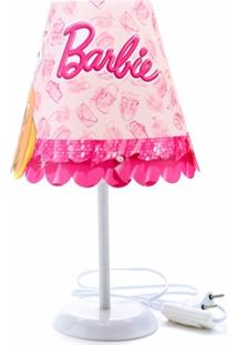 Abajur Cônico Infantil Barbie Bailarina Ref. 0600