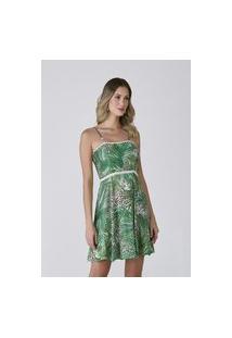 Vestido Celestine Estampado Tropical