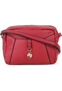 Bolsa Shoulder Luxcel Feminina - Feminino-Vermelho