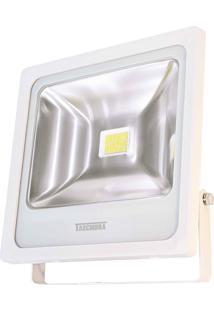 Refletor Taschibra Tr Led 50 Quadrado 50W 3000K Autovolt Branco