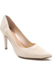Sapato Scarpin Tanara Malha Feminino - Feminino