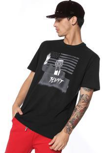 Camiseta Blunt Donald Skull Preta