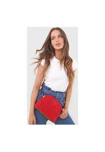 Bolsa Desigual Across Body Bag Hela Vermelha