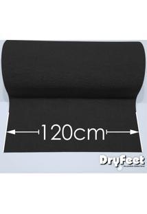 Tapete Dryfeet Cinza 120Cm De Largura Por Até 10 Metros De Comprimento