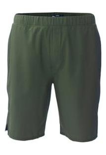 Bermuda Tecido Hurley Trainer 2.0 Masculina - Masculino-Verde