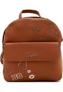 Bolsa Betty Boop Logo Caramelo