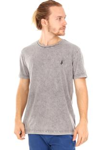 Camiseta Side Walk Camiseta Pause Cinza