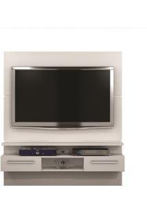 Painel Talismã Para Tv Até 55´´ Valdemóveis -Branco Fosco
