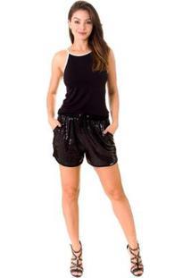 Shorts Opera Rock Jogging Paete Feminina - Feminino