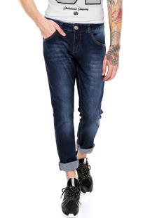 Calça Jeans Fiveblu Slim Plm1057 Azul