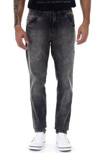 Calça Jeans Masculina Max Denim - Preto