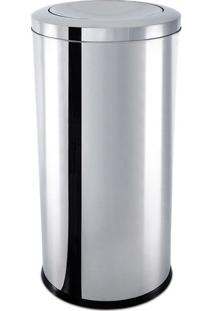 Lixeira Basculante- Inox- 64L- Brinoxbrinox