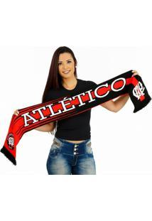 Cachecol Athletico Pr Dupla Face - Unissex