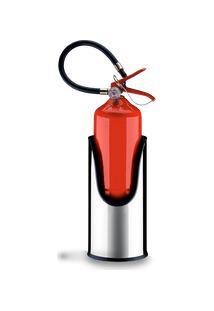 Suporte Redondo Para Extintor De Incêndio - Decorline Lixeiras Ø 20 X 41 Cm - Brinox