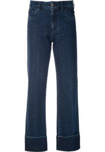 Andrea Bogosian Calça Jeans Pry Reta - Azul