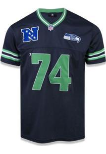 Camiseta Jersey Seattle Seahawks Sports Vein - New Era - Masculino