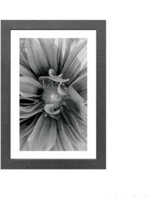 Quadro Decorativo Bloom 23X33Cm Cinza Infinity