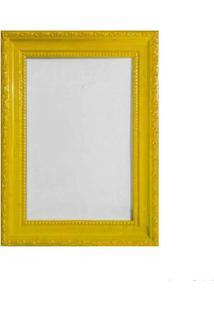 Porta Retrato 13X18Cm Queem Amarelo Brilhante Infinity
