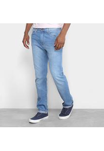 Calça Jeans Slim Calvin Klein Estonada Masculina - Masculino