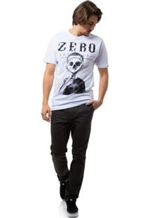 Camiseta Zero Fuller Masculina - Masculino-Branco