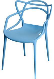 Cadeira Master Allegra Polipropileno Azul - 21400 - Sun House