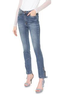 Calça Jeans Carmim Skinny Finlandia Azul