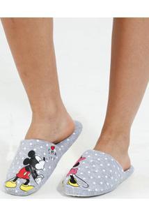 Pantufa Feminina Minnie Disney