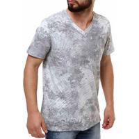 71f182eed2 Camiseta Manga Curta Masculina Fido Dido Cinza