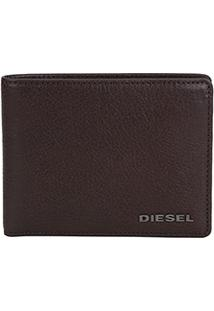 Carteira De Couro Diesel Masculina - Masculino