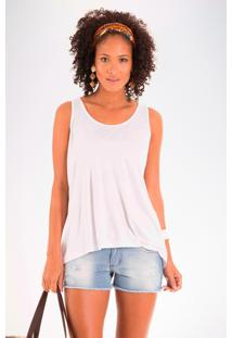 Blusa Mercatto Básica Branco