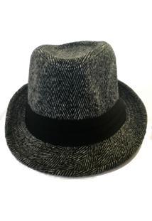 Chapéu Virgínia Cavalheiro De Lã Preto