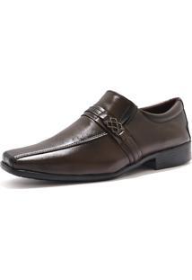 Sapato Social Elegante La Faire Caramelo
