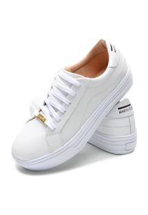Sapatenis Feminino Calçados Gb Polo Urban Branco