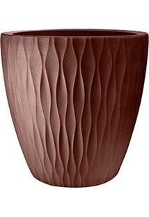 Vaso Plástico Infinity Redondo 50 Tabaco - Nutriplan