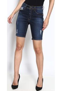 Bermuda Jeans Lisa - Azul - Osmozeosmoze
