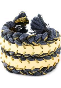 Aurelie Bidermann Bracelete 'Copacabana' - Azul