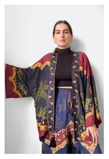 Kimono Onca Delicada - Est Onca Delicada_Multicolorido - U
