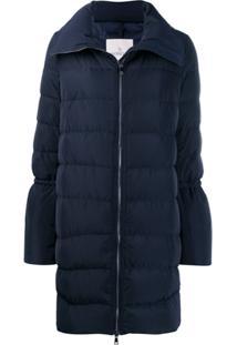 Moncler Flared-Sleeve Puffer Jacket - Azul
