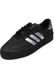 Tênis Adidas Originals Sambarose W Preto