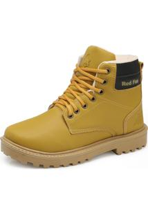 Bota Coturno Red Fox Re19-270R Mostarda