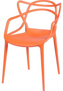 Cadeira De Jantar Solna Or Design Laranja - Laranja - Dafiti