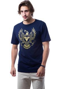 Camiseta Fallen Arms Azul Marinho