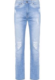 Calça Masculina Slim - Azul