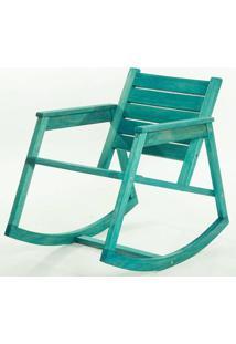 Cadeira Balanco Janis Azul 80Cm - 61408 - Sun House