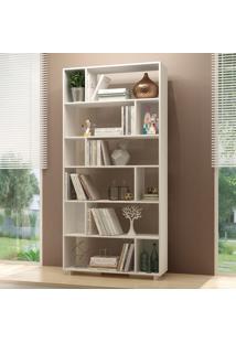Estante Para Livros Be 44-06 Branco - Brv Móveis