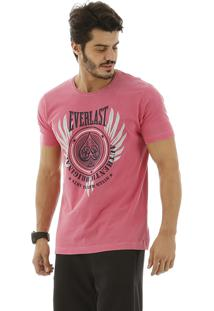 Camiseta Everlast Silk Everlast Vermelho