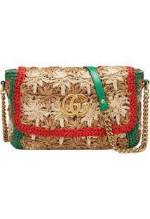 Gucci Bolsa Tiracolo Gg Marmont - Estampado
