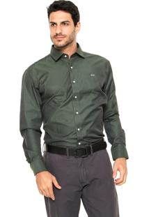 Camisa Mr. Kitsch Geométrica Verde
