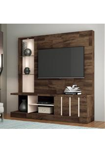 Estante Para Home Theater E Tv 60 Polegadas Eleve Deck E Tv Off White