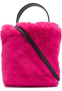Karl Lagerfeld Karl X Carine Bucket Bag - Rosa